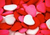 Fondo dulce corazón — Foto de Stock