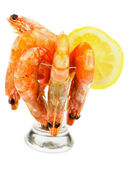 Shrimp Cocktail — Stock Photo