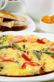 Delicious Omelet — Stock Photo
