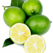 Green Lemons — Stock Photo