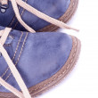 Stock Photo: Blue Shoes