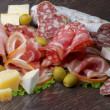 Stock Photo: Delicatessen Cold Cuts