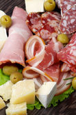Delicatessen Cold Cuts — Stock Photo