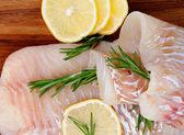 Raw Cod Fish — Stock Photo