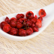 Foto de Stock  : Red Peppercorn