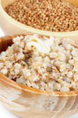 Boiled Buckwheat — Foto de Stock