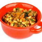 White Beans Stew — Stock Photo