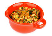 White Beans Stew — Stock Photo