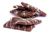 çikolatalı bisküvi — Stok fotoğraf