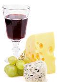 Tasting Cheese — Stock Photo