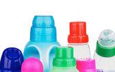 Capas de produtos de limpeza — Foto Stock