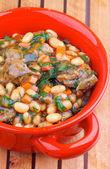 White Beans Stew — Foto de Stock