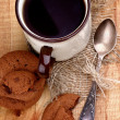 Tea and Cookies — Stock Photo