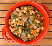 White Beans Stew — Foto de Stock