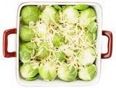 Brussels Sprouts Casserole — Zdjęcie stockowe