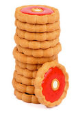 Cookies with Jelly — Stock Photo