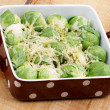 Brussels Sprouts Casserole — Stock Photo