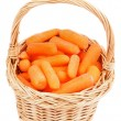 Baby Carrots — Stock Photo