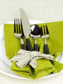 テーブルの設定 — ストック写真