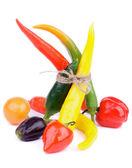 кучу перец — Стоковое фото