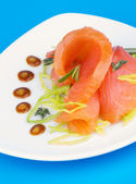 Salmon Snack — Stockfoto