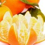 Tangerine with Segments — Stock Photo #38285269