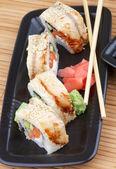 Unagi Sushi — Стоковое фото