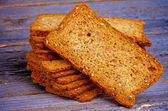 Crunchy Bread Slices — Stockfoto
