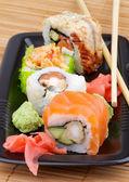 Maki Sushi Set — Stock Photo
