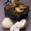 Stock Photo: Roasted Mushrooms