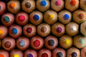Fond de crayons de couleur — Photo