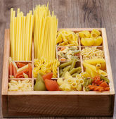 Verschillende pasta — Stockfoto