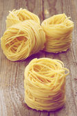 Nests of Raw Vermicelli — Stockfoto