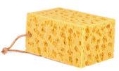 黄色的海绵 — 图库照片