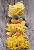 Arreglo de pasta seca — Foto de Stock