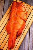 Smoked Red Snapper Fish — Stock Photo