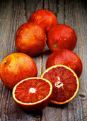 Blood Oranges — Stock fotografie