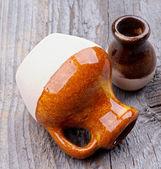 Brocche di terracotta — Foto Stock