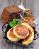 Fried Cutlets — Stock Photo