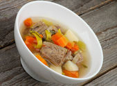 Beef Soup — Stock Photo
