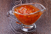 Sweet and Sour Sauce — Stock Photo