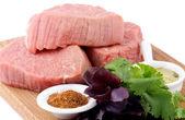 Raw Beef Steaks — Foto de Stock