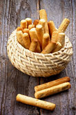Palitos de pan — Foto de Stock