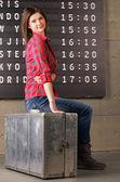 Waiting Flight — Stock Photo
