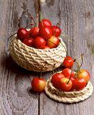 Sweet Maraschino Cherries — Stock Photo
