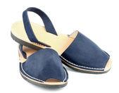 Blue Sandals Avarcas — Stok fotoğraf