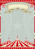 Circus retro big top. — Stock Vector