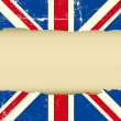 UK scratched flag — Stock Vector #25656613