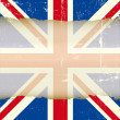 UK torn flag. — Stock Vector #25656673