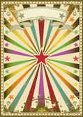 Multicolor circus — Stock Vector